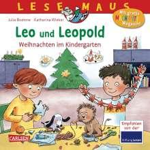 Julia Boehme: LESEMAUS 163: Leo und Leopold - Weihnachten im Kindergarten, Buch