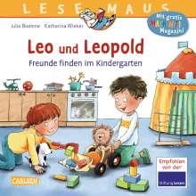 Julia Boehme: LESEMAUS 194: Leo und Leopold - Freunde finden im Kindergarten, Buch