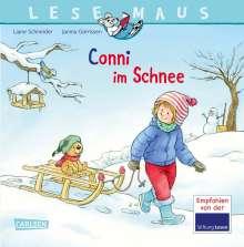 Liane Schneider: LESEMAUS 103: Conni im Schnee, Buch