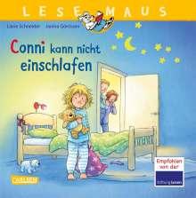 Liane Schneider: LESEMAUS 78: Conni kann nicht einschlafen, Buch