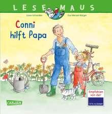 Liane Schneider: LESEMAUS 191: Conni hilft Papa, Buch