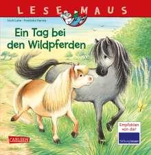 Usch Luhn: LESEMAUS 147: Ein Tag bei den Wildpferden, Buch