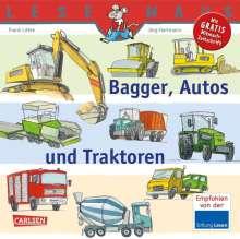 Frank Littek: Bagger, Autos und Traktoren, Buch