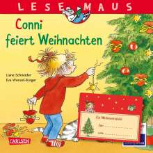 Liane Schneider: LESEMAUS 58: Conni feiert Weihnachten, Buch