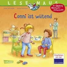 Liane Schneider: LESEMAUS 86: Conni ist wütend, Buch