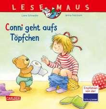 Liane Schneider: LESEMAUS 83: Conni geht aufs Töpfchen, Buch