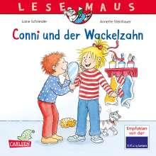 Liane Schneider: LESEMAUS, Band 44: Conni und der Wackelzahn, Buch