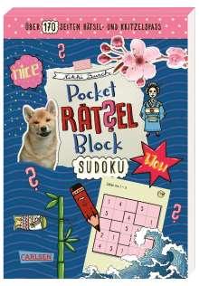 Nikki Busch: Pocket-Rätsel-Block: Sudoku, Buch