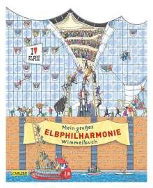 Achim Ahlgrimm: Mein großes Elbphilharmonie-Wimmelbuch, Buch