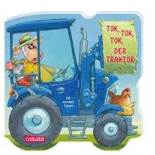 Sandra Grimm: Mein kleiner Fahrzeugspaß: Tok, tok, tok, der Traktor, Buch