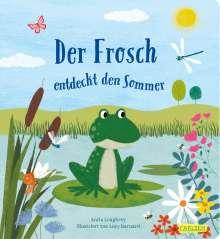Anita Loughrey: Der Frosch entdeckt den Sommer, Buch