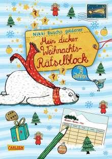 Nikki Busch: Mein dicker Weihnachts-Rätselblock, Buch