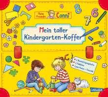 Hanna Sörensen: Conni Gelbe Reihe: Mein toller Kindergarten-Koffer (Buch-Set für den Kindergarten), Buch