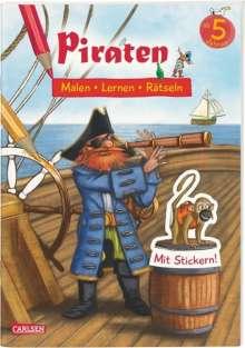 Lena Bachmann: Piraten: Malen Lernen Rätseln, Buch