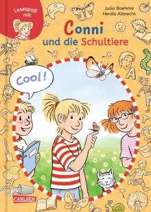 Julia Boehme: Lesespaß mit Conni: Conni und die Schultiere, Buch