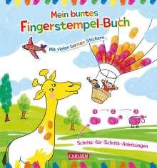 Laura Leintz: Mein buntes Fingerstempel-Malbuch, Buch