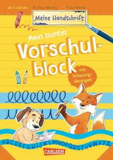 Eva Odersky: Mein bunter Vorschulblock mit Schwungübungen, Buch
