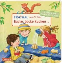 Hör mal: Verse für Kleine: Backe, backe Kuchen ... Soundbuch ab 18 Monaten, Buch