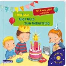 Julia Hofmann: Hör mal (Soundbuch): Mach mit - Pust aus: Alles Gute zum Geburtstag, Buch