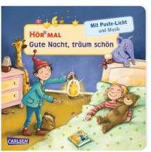 Julia Hofmann: Hör mal (Soundbuch): Mach mit - Pust aus: Gute Nacht, träum schön, Buch