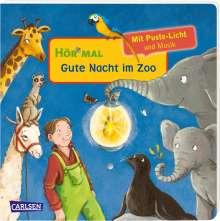 Julia Hofmann: Hör mal (Soundbuch): Mach mit - Pust aus: Gute Nacht im Zoo, Buch