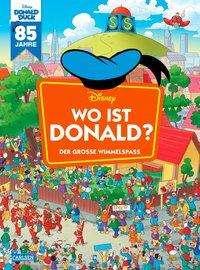 Walt Disney: Disney: Wo ist Donald? - Wimmelbuch mit Donald Duck, Buch