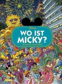 Walt Disney: Disney: Wo ist Micky? - Wimmelbuch mit Micky Maus, Buch