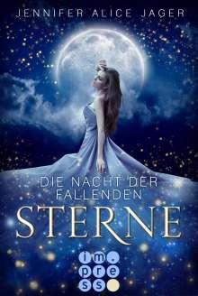 Jennifer Alice Jager: Die Nacht der fallenden Sterne, Buch