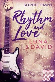 Sophie Fawn: Rhythm and Love: Luna und David, Buch