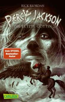 Rick Riordan: Percy Jackson 05. Percy Jackson - Die letzte Göttin, Buch