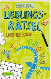 Stefan Heine: Lieblingsrätsel - Logik und Zahlen, ab 8 Jahren (Rechenrätsel, Sudoku, Logicals und vieles mehr), Buch