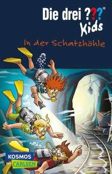 Boris Pfeiffer: Die drei ??? Kids 64: In der Schatzhöhle (drei Fragezeichen), Buch