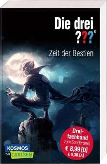 Ben Nevis: Die drei ???: Zeit der Bestien (Dreifachband), Buch