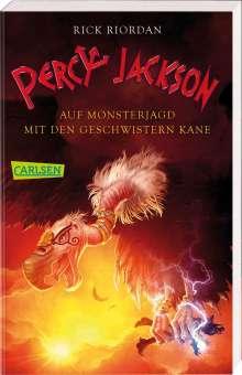 Rick Riordan: Percy Jackson - Auf Monsterjagd mit den Geschwistern Kane (Percy Jackson ), Buch