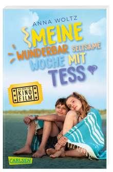 Anna Woltz: Meine wunderbar seltsame Woche mit Tess (Filmausgabe), Buch