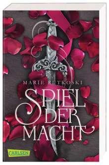 Marie Rutkoski: Spiel der Macht (Die Schatten von Valoria 1), Buch