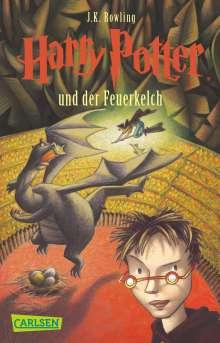 Joanne K. Rowling: Harry Potter 4 und der Feuerkelch. Taschenbuch, Buch