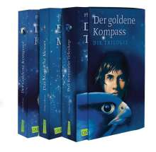 Philip Pullman: Der Goldene Kompass, Das Magische Messer, Das Bernstein-Teleskop, Buch