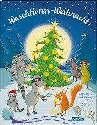 Judith Allert: Waschbären-Weihnacht, Buch
