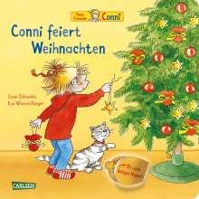 Liane Schneider: Conni feiert Weihnachten (Pappenbuch mit Klappen), Buch