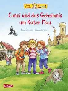 Liane Schneider: Conni-Bilderbücher: Conni und das Geheimnis um Kater Mau, Buch