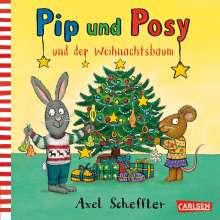 Axel Scheffler: Pip und Posy: Pip und Posy und der Weihnachtsbaum, Buch