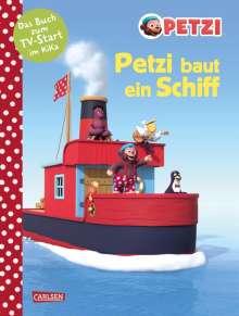 Anna Himmel: Petzi baut ein Schiff, Buch
