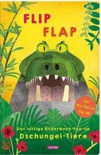 """Lucia Fischer: FLIP FLAP Das lustige Bilderbuch-Pop-up """"Dschungel-Tiere"""", Buch"""
