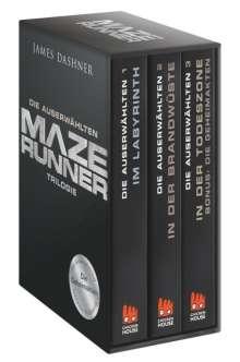 James Dashner: Maze Runner-Trilogie - Die Auserwählten, Buch