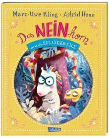 Marc-Uwe Kling: Das NEINhorn und die SchLANGEWEILE, Buch