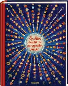 Ein Stern strahlt in der dunklen Nacht - Geschichten, Gedichte und Lieder zur Weihnachtszeit, Buch