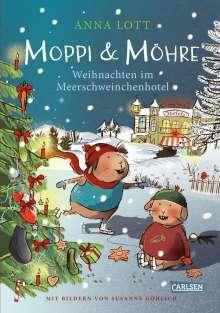 Anna Lott: Moppi und Möhre - Weihnachten im Meerschweinchenhotel, Buch