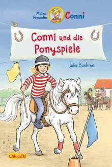 Julia Boehme: Conni-Erzählbände 38: Conni und die Ponyspiele, Buch