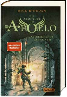 Rick Riordan: Die Abenteuer des Apollo 3: Das brennende Labyrinth, Buch